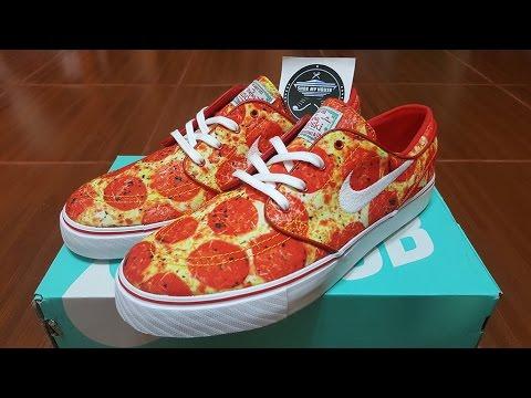 Unboxing - Nike SB Stefan Janoski Skate Mental Pizza 845711-619