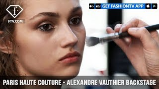 Paris Couture Fall/Winter 2017-18 - Alexandre Vauthier Backstage   FashionTV