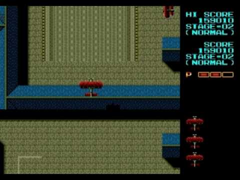 Fire Shark: Stage 1, 2, & 3 (Sega Genesis)