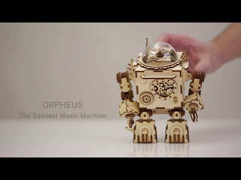 Maggy Store - Mechanical Robot Musicbox Puzzle