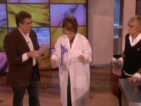Steve Spangler on the Ellen Show September 2008