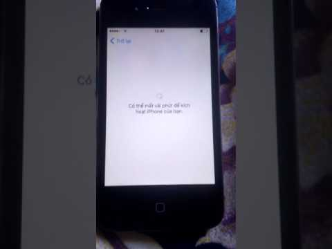 cách hack active iphone 4s bị dính icloud - Cach vao man hinh iphone 4s khi đã bị khoá icloud