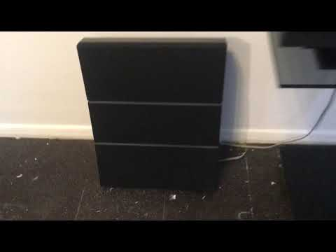 Bang & Olufsen Beocenter 8000 With Beovox RL 1000 Speakers Plus 9500 BeoStand In Action