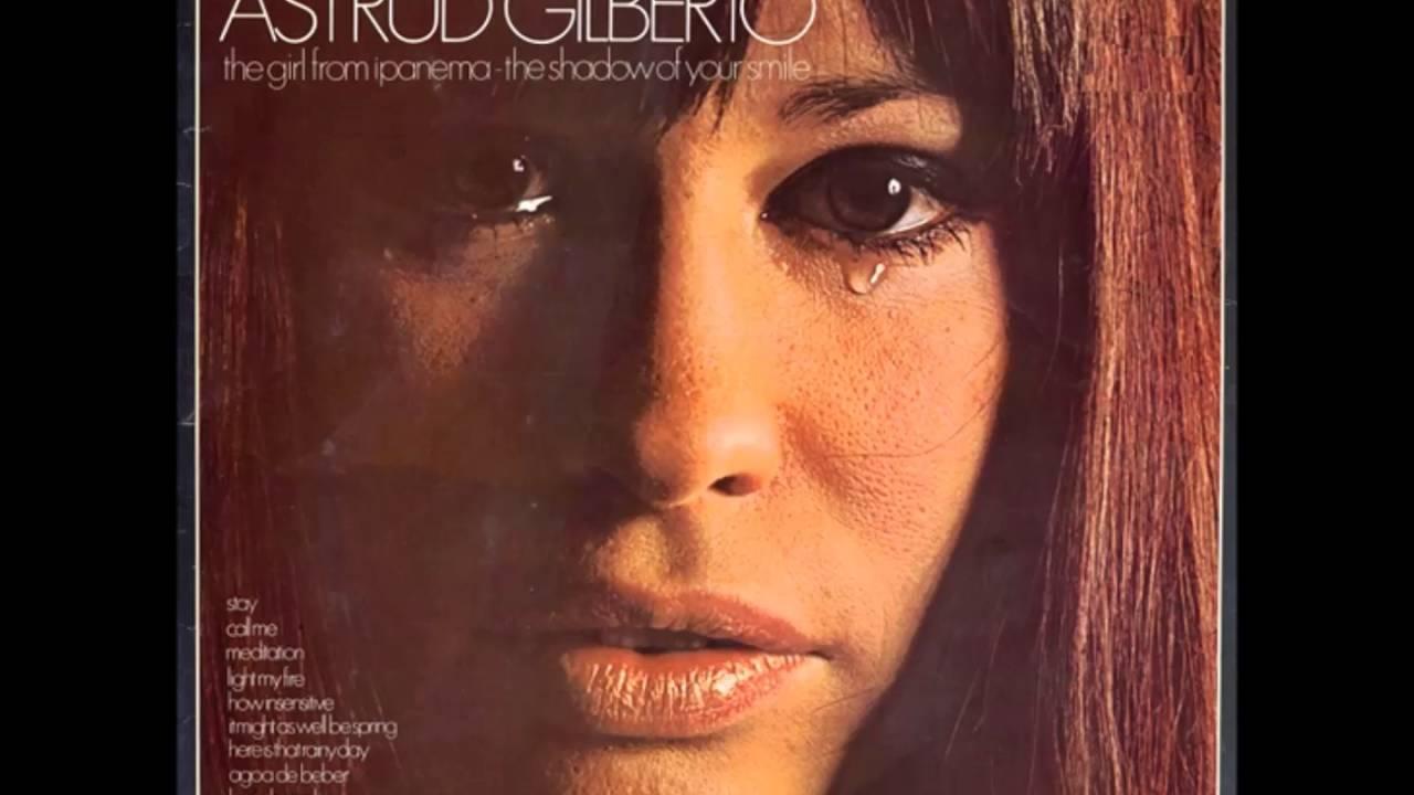 Astrud Gilberto:The Shadow Of Your Smile Lyrics ...