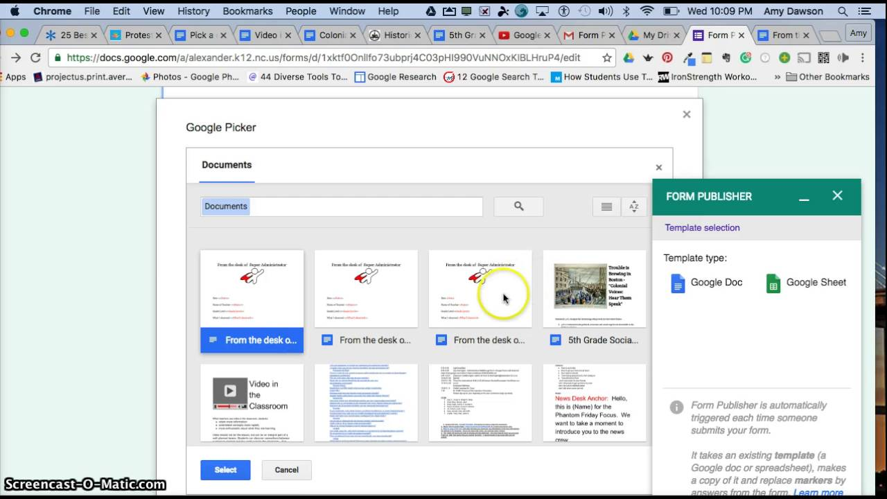 Form Publisher in Google Forms - YouTube