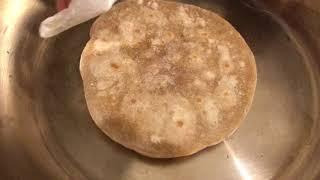 Приготовление Чапати на сковороде из нержавейки