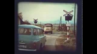 Krátký výukový film Praha - Výstražná zařízení na železničních přejezdech
