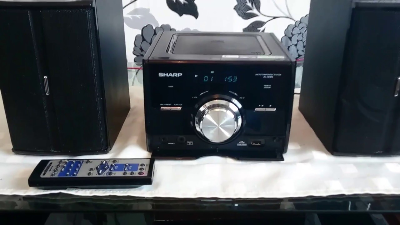 sharp xlhf102b. sharp xl-uh25 hifi stereo system. like and subscribe please for more videos. xlhf102b g