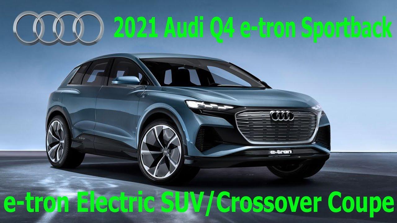 2021 Audi Q4 e-tron Sportback Electric SUV - Interior ...