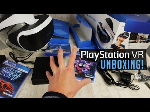 PLAYSTATION VR UNBOXING - Bin dann mal weg!