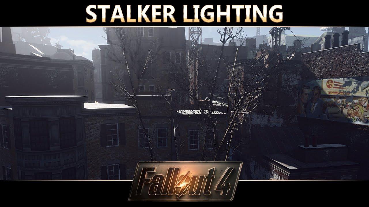 Fallout 4 Reshade Mod Showcase  Stalker Lighting ( Photorealistic Wasteland ) by Garny - YouTube  sc 1 st  YouTube & Fallout 4 Reshade Mod Showcase : Stalker Lighting ( Photorealistic ... azcodes.com