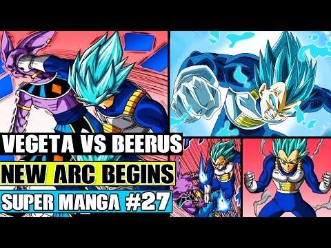 BEERUS VS MASTERED SUPER SAIYAN BLUE VEGETA! Dragon Ball Super Manga Chapter 27 Review
