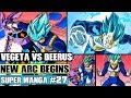 BEERUS VS MASTERED SUPER SAIYAN BLUE VEGETA! Dragon Ball Super Manga Chapter 27 Review