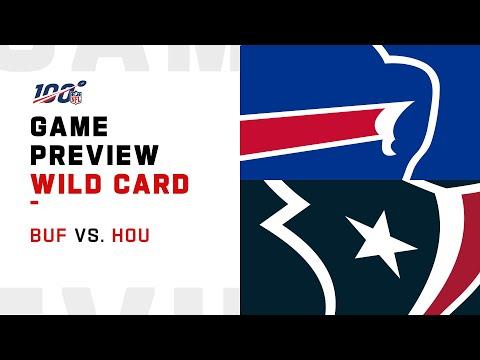Buffalo Bills Vs Houston Texans Wild Card Weekend Game Preview