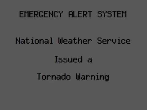 Double Tornado Warning: Brooklyn, NY (9/8/12)