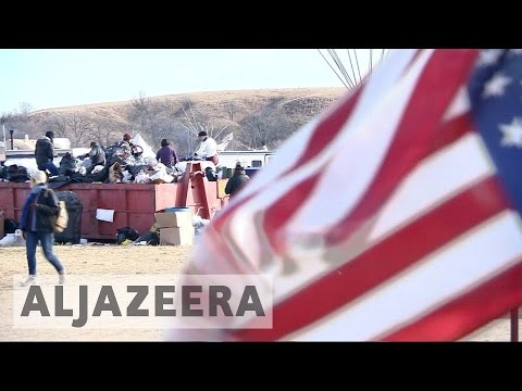 North Dakota pipeline protesters told to leave