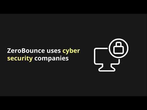 ZeroBounce  Security