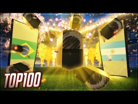 TOP 100 FUT CHAMPIONS REWARDS! FIFA 18!