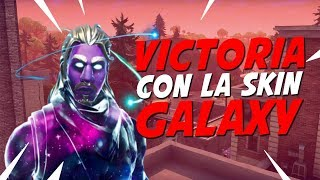 "I HAVE THE SKIN ""GALAXY"" *epic victory* - FORTNITE"