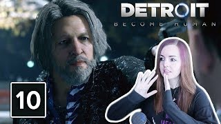 WILL HE SHOOT ME? | Detroit Become Human Gameplay Walkthrough Part 10