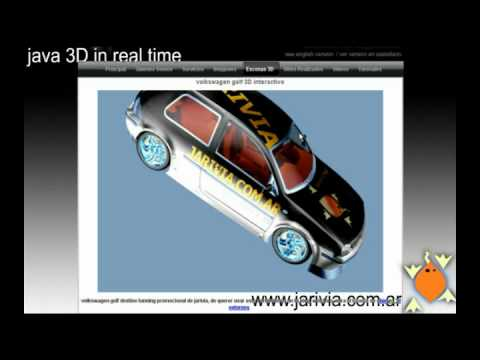 www.jarivia.com.ar /// java web 3D in real time, no plugins required, nosoundversion