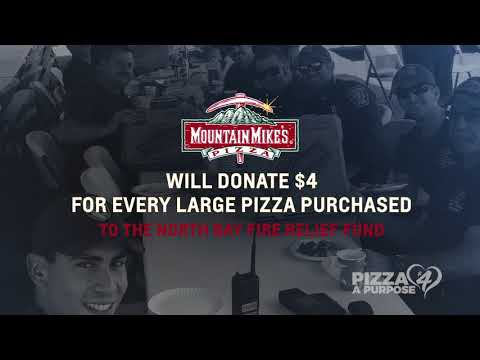 Mountain Mike's Pizza Cyber Monday Nov. 27 Fundraiser