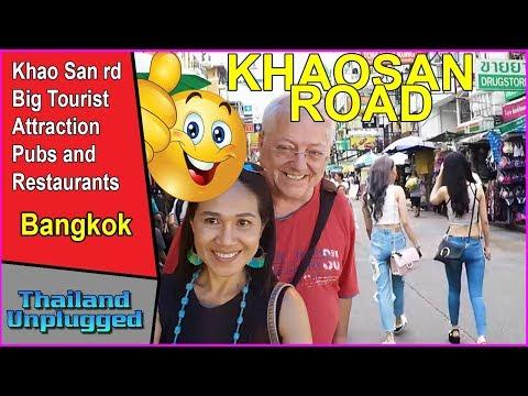 BANGKOK KHAOSAN ROAD  THAILAND PT 2 full HD