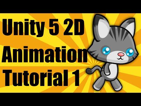 Unity 5 2d Animation Tutorial - Part 1 thumbnail