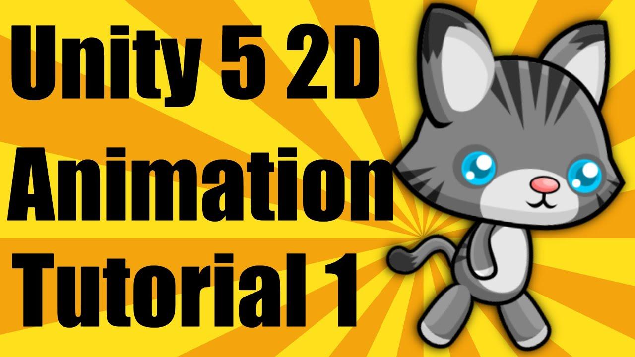 Unity 5 2d Animation Tutorial Part 1 Youtube
