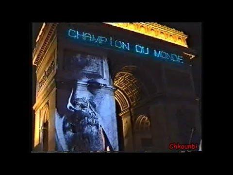Coupe du Monde 1998 - Champs Elysées - Direct Live !