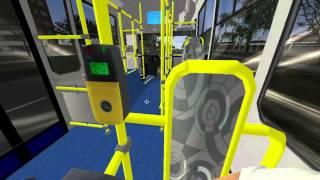 Omsi 2 - Levando Ônibus Para Garagem ( Induscar Caio Mondego )