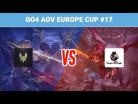 Highlights: Team Vitality vs Team Royal   Go4 Arena of Valor Europe Cup #17
