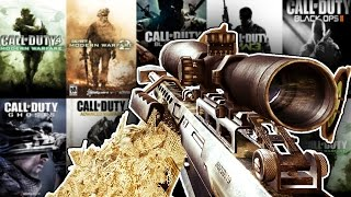 The Evolution of The BARRETT 50. Cal in Every Call of Duty