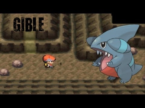 How To Catch GIBLE In Pokemon Diamond/Pearl/Platinum