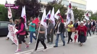 Συγκέντρωση και πορεία του ΠΑΜΕ στο Κιλκίς-Eidisis.gr webTV