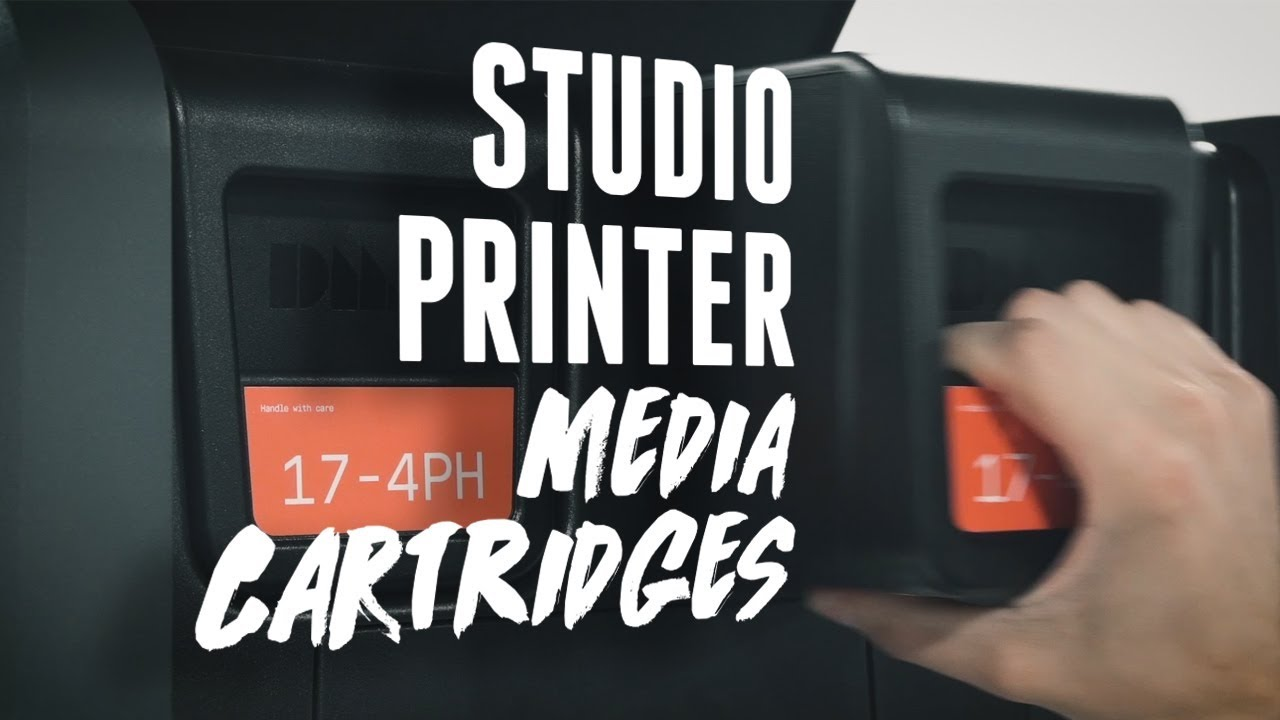 Materials & Media Cartridges | Desktop Metal 3D Printing 101