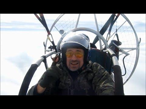 Мото параплан//Бюджетная дорога в небо!! F.A.Q. и полёт над облаками!!Паралёт, Аэрошют