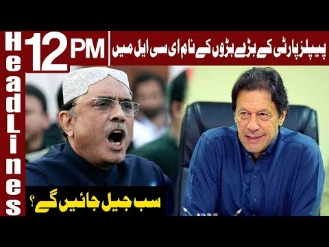 End of People's Party From Pakistan's Politics? | Headlines 12 PM | 28 December 2018 | Express News