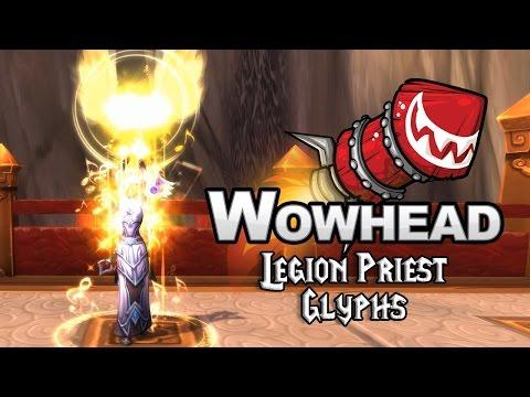 Legion Priest Glyphs