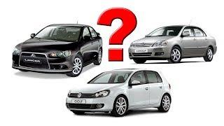Б/У: Mitsubishi Lancer, Toyota Corolla, Volkswagen Golf. Что купить?