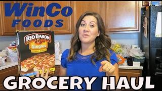 WINCO FOODS GROCERY HAUL | NEW GIVEAWAY | PHILLIPS FamBam Hauls