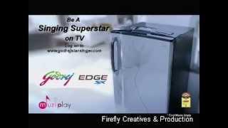 Ready - Godrej Edge MuziPlay Refrigerators (2011)