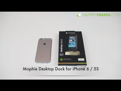 competitive price d662e 130f3 mophie desktop dock for iPhone 6 / 5S / 5 / 5C - Best iPhone 6 dock