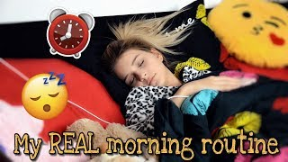 My REAL Morning Routine 2018 Resimi