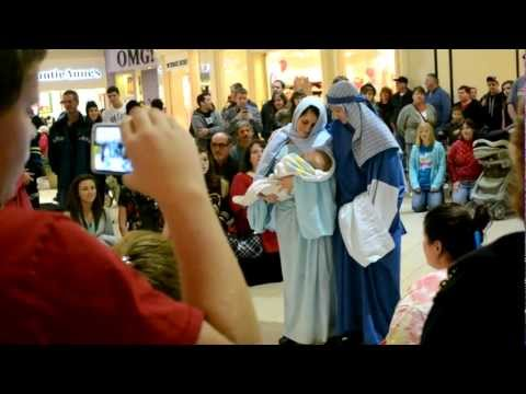 EASTWOOD MALL Christmas Flash Mob 2012