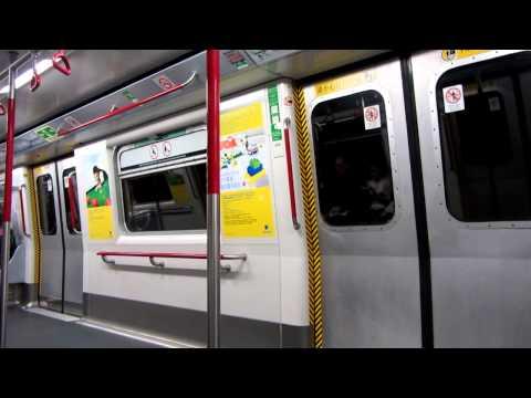 MTR M-Train [A130-A179] journey from Cheung Sha Wan → Mei Foo (» Tsuen Wan)