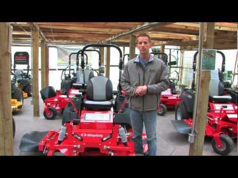 The Simplicity Cobalt Lawn Mower