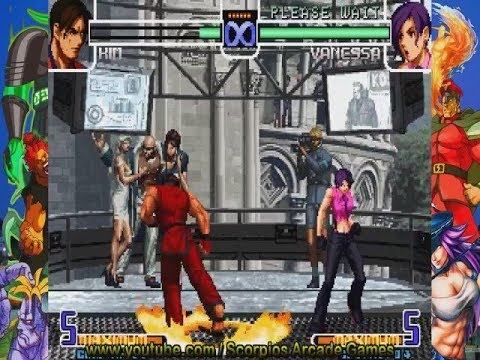 The King of Fighters 2002 - Kim K. Combos táticos (2.0) by Scorpios