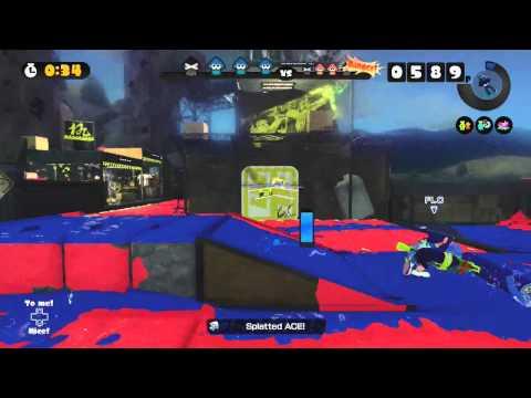 Splatoon - Online - Barbarian vs Ninja - Splatfest - Gameplay - Frezhor (Nintendo Wii U) 30/01/2016