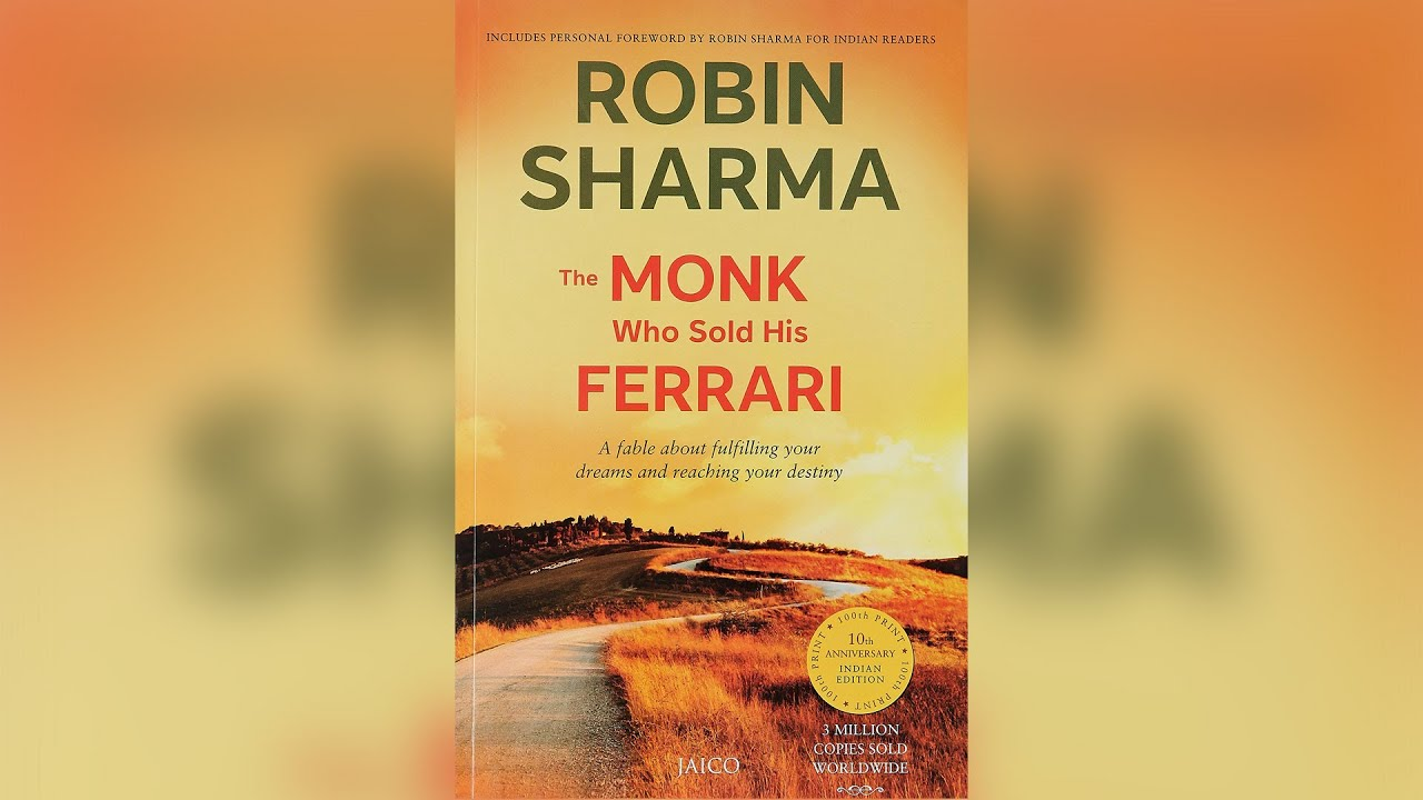 3 minutes books: the monk who sold his ferrari - youtube